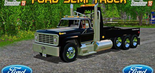 Грузовики для Мод тягач Ford Semi для Farming Simulator 2015