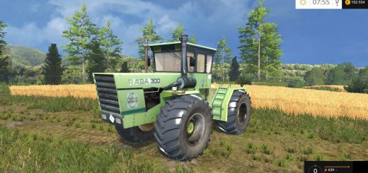 Тракторы для Мод трактор Raba Steiger 300 v1.0 для Farming Simulator 2015