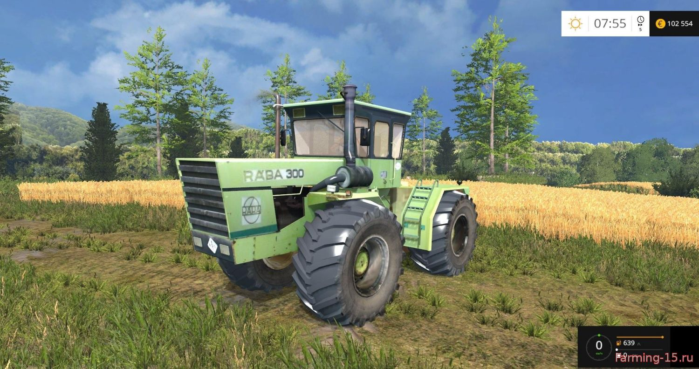 Тракторы для Мод трактор Raba Steiger 300 v1.0 для Farming Simulator 2015