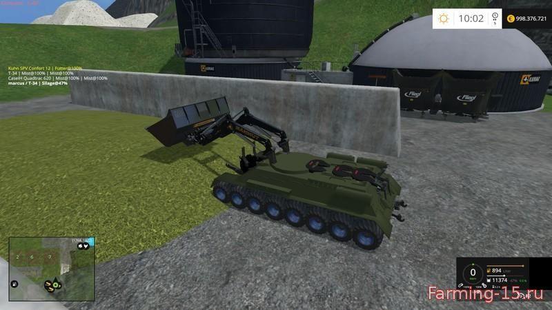 Другие моды для Мод Танк Т-34 для Farming Simulator 2015