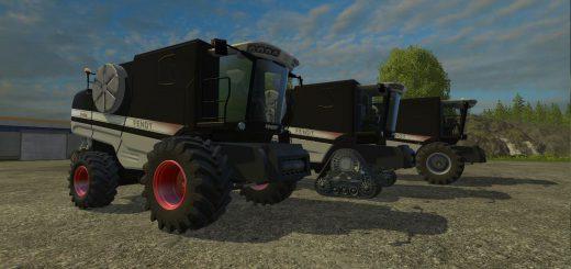 Комбайны для Мод-пак комбайнов FENDT 9460 R BLACK для Farming Simulator 2015