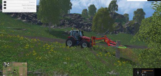 С/Х инвентарь для Мод навесная пила для Farming Simulator 2015