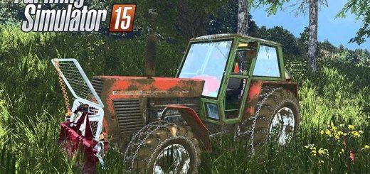 Тракторы для Мод трактор Zetor Crystal 12045 для Farming Simulator 2015