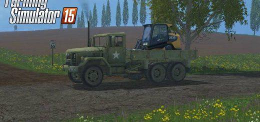 Грузовики для Мод грузовик M35A2 для Farming Simulator 2015