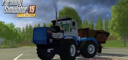 Русская техника для Мод трактор ХТЗ Т-150К V2.0 для Farming Simulator 2015