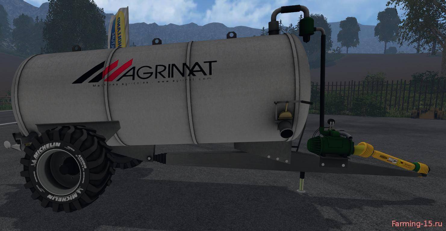 С/Х инвентарь для Мод цистерна для навоза Agrimat Skipper для Farming Simulator 2015