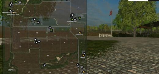 Карты для Скачать карту США для Farming Simulator 2015