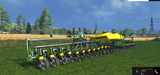С/Х инвентарь для Мод сеялка John Deere DB60 V1 для Farming Simulator 2015