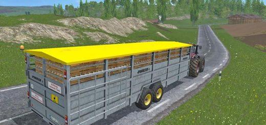 Прицепы для Мод прицеп для перевозки животных для Farming Simulator 2015