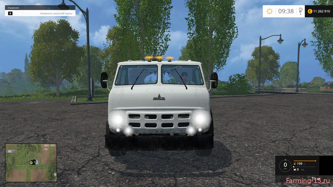Русская техника для Мод тягач МАЗ-504 для Farming Simulator 2015