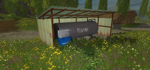 Объекты для карт для Мод заправка GDR для Farming Simulator 2015
