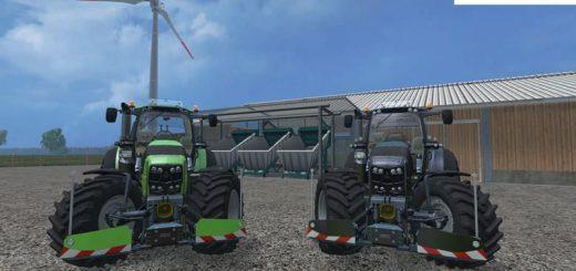 Тракторы для Мод-пак тракторов DEUTZ FAHR 7250 TTN WARRIOR v4.0 для Farming Simulator 2015
