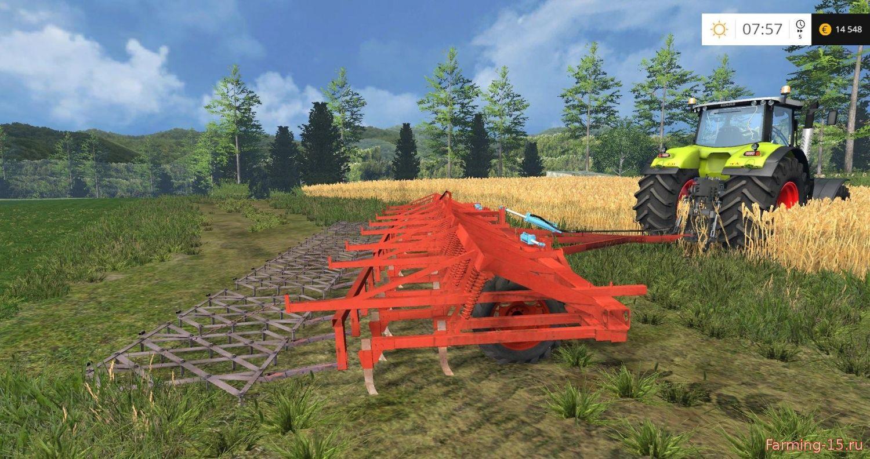 С/Х инвентарь для Мод культиватор КПС 8 для Farming Simulator 2015