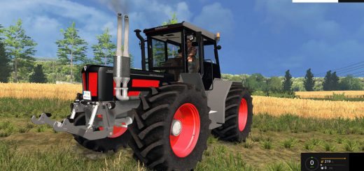 Тракторы для Мод трактор Schluer 1900MB v1.0 для Farming Simulator 2015