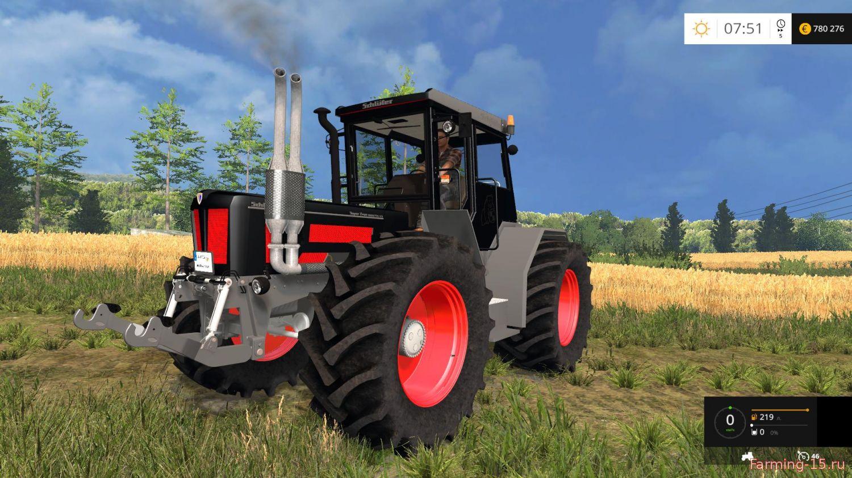 Тракторы для Мод трактор Schluer 1900MB v1.0 для Farming Simulator 2015
