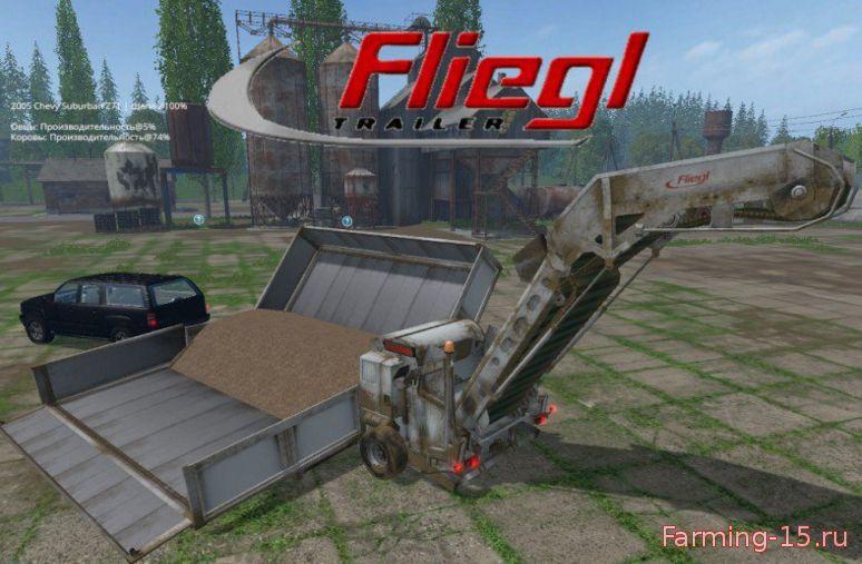 С/Х инвентарь для Мод перегружатель Fliegl Overload для Farming Simulator 2015