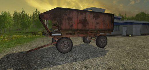 Русская техника для Мод кормораздатчик КТУ-10 для Farming Simulator 2015