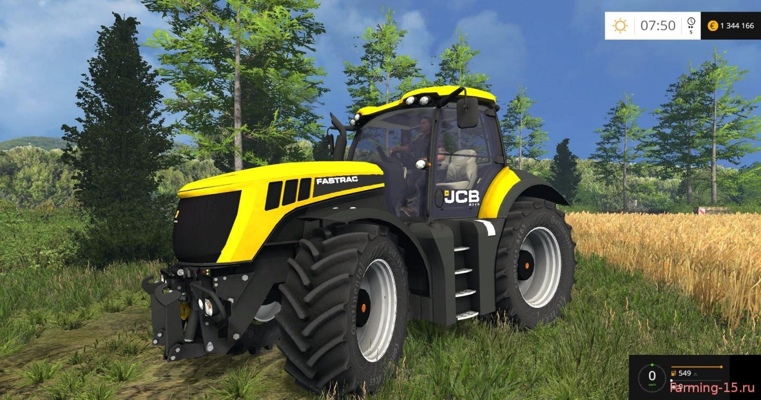 Тракторы для Мод трактор JCB Fastrac 8310 v4.0 для Farming Simulator 2015