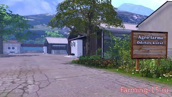 Карты для Карта Agro Farma v3.0 для Farming Simulator 2015