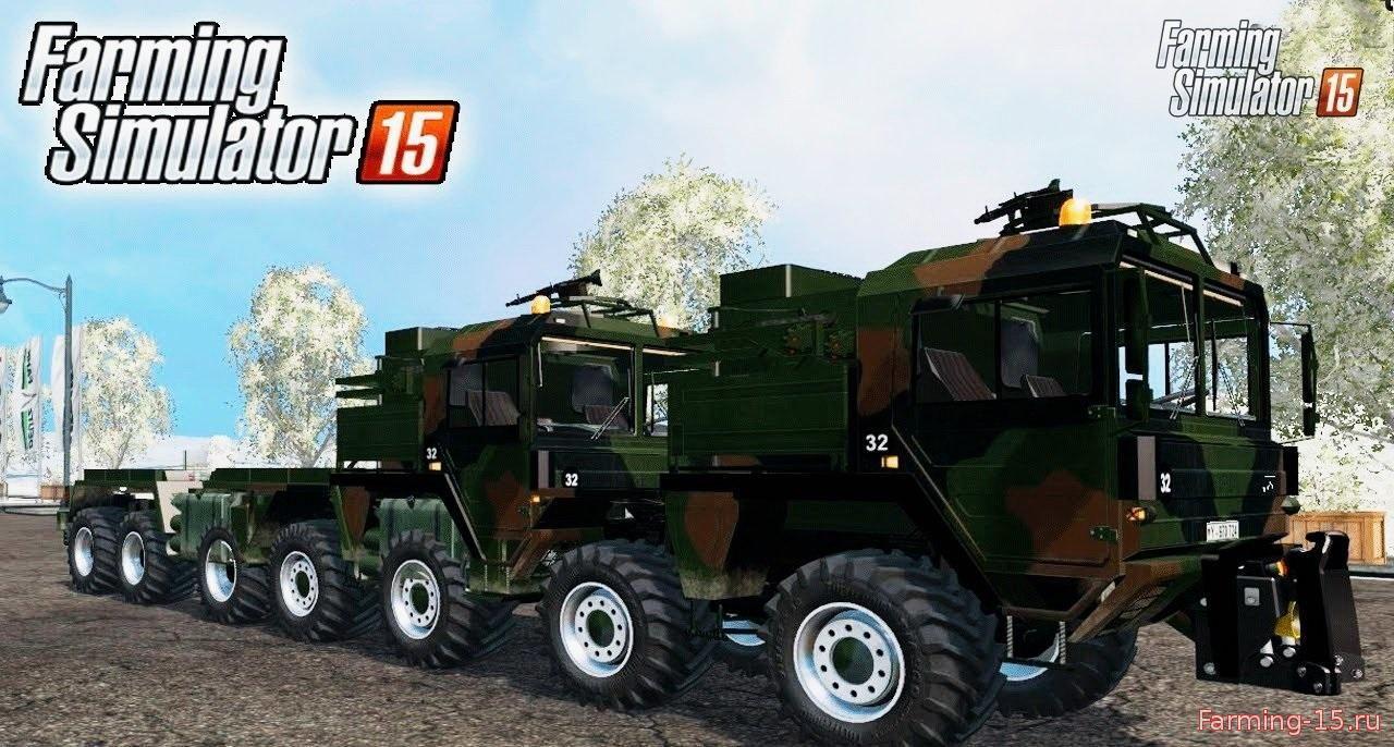 Грузовики для Мод грузовик MAN KAT II WLF V2 для Farming Simulator 2015