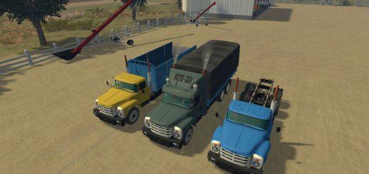 Русская техника для Мод грузовик ЗиЛ 133 V2.0 для Farming Simulator 2015
