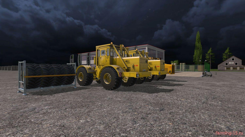 Русская техника для Мод-пак тракторов «Кировец» v2.5.0.0 для Farming Simulator 2015