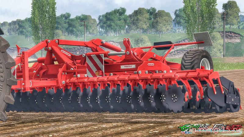 С/Х инвентарь для Мод культиватор Maschio Presto 600 v1.1 для Farming Simulator 2015