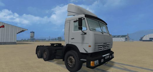 Русская техника для Мод тягач КамАЗ 54115 для Farming Simulator 2015
