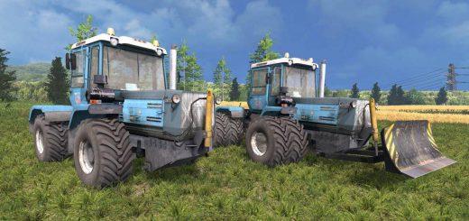 Русская техника для Мод трактор ХТЗ T-150 09 25 v1.0 для Farming Simulator 2015