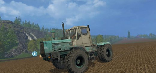 Русская техника для Мод трактор ХТЗ Т-150К для Farming Simulator 2015