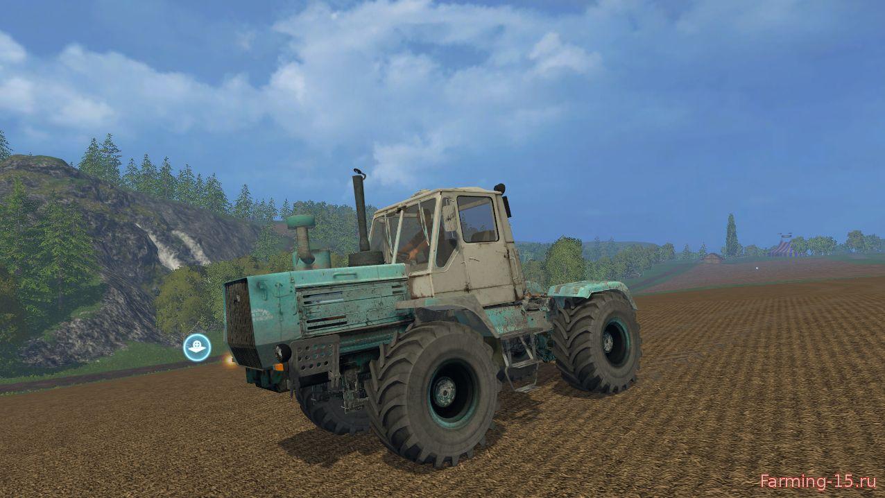 Русская техника для Мод трактор ХТЗ Т-150К для Farming Simulator 2015