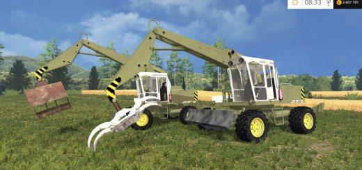 Погрузчики для Мод погрузчик Fortschritt T188 для Farming Simulator 2015