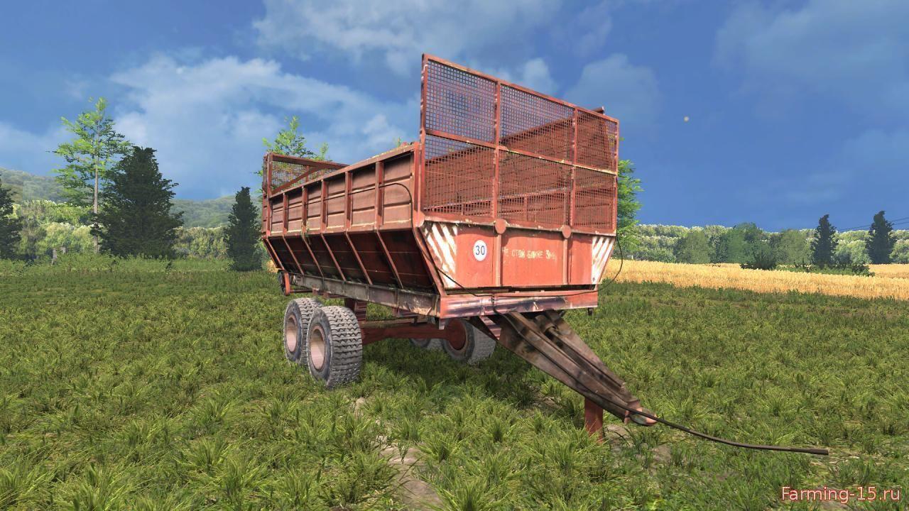 Прицепы для Мод прицеп ПИМ-40 v1.0 для Farming Simulator 2015