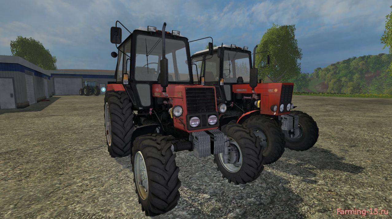 Русская техника для Мод-пак тракторов МТЗ для Farming Simulator 2015
