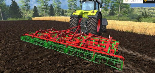 С/Х инвентарь для Мод культиватор Unia Kombi 5.6 v1.0 для Farming Simulator 2015