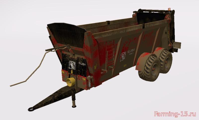 С/Х инвентарь для Мод навозоразбрасыватель-Gilibert Herax 20 для Farming Simulator 2015