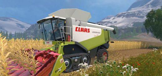 Комбайны для Мод-пак комбайнов Claas Lexion 580/600 v 1.0 для Farming Simulator 2015