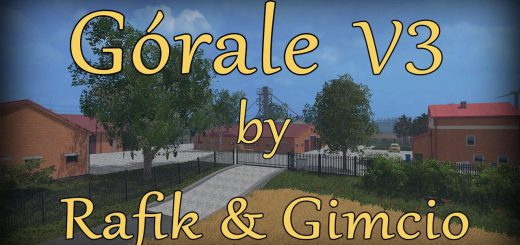 Карты для Карта Gorale v3 для Farming Simulator 2015