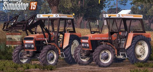 Тракторы для Мод трактор Zetor 10145 Turbo Full для Farming Simulator 2015