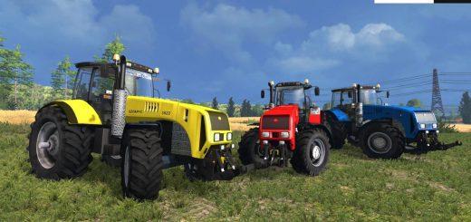 Русская техника для Мод трактор МТЗ 3522 Беларус v1.3 Break Engine для Farming Simulator 2015