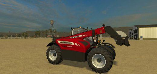Погрузчики для Мод погрузчик Massey Ferguson 9407 v2 для Farming Simulator 2015