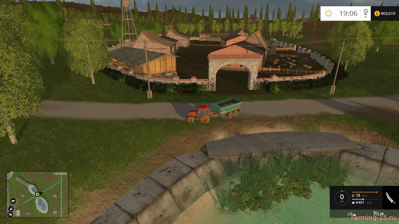 Объекты для карт для Новые объекты для карты Сосновка для Farming Simulator 2015