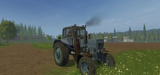 Русская техника для Мод трактор Белаус МТЗ 82 v2.0 для Farming Simulator 2015