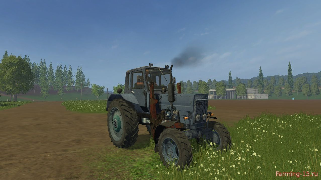 Русская техника для Мод трактор Белаус МТЗ 82 v2.0 для Farming Simulator 2015