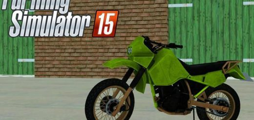 Другие моды для Мод мотоцикл Kawasaki KR650 V1.0 для Farming Simulator 2015