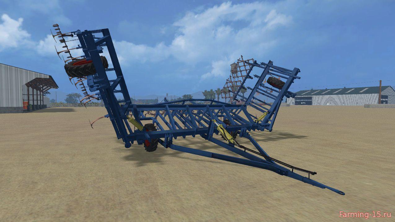 С/Х инвентарь для Мод прицепной культиватор КПС-8 для Farming Simulator 2015