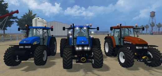Тракторы для Мод-пак тракторов New Holland NH v1.0 для Farming Simulator 2015
