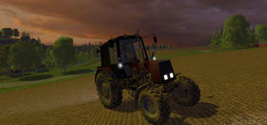 Русская техника для Мод трактор Беларус МТЗ 820 ПКУ V 1.2 для Farming Simulator 2015