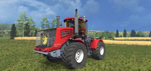 Русская техника для Мод трактор Кировец 9450 для Farming Simulator 2015