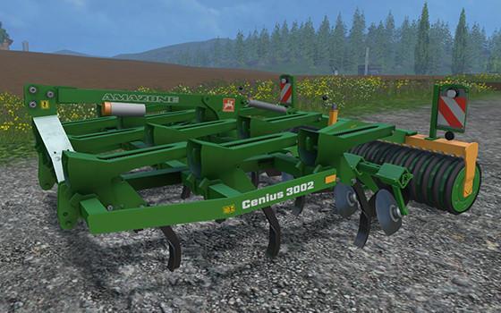 С/Х инвентарь для Мод культиватор Amazone Cenius 3002 для Farming Simulator 2015